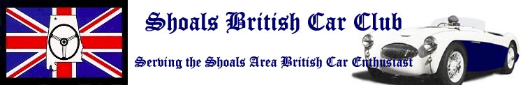 Shoals British Car Club
